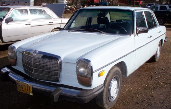 1974 Mercedes 240D Diesel W115-Chassis, Buckleberry
