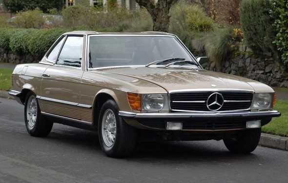 1980 Mercedes-Benz 350SL 4-speed manual | German Cars For Sale Blog