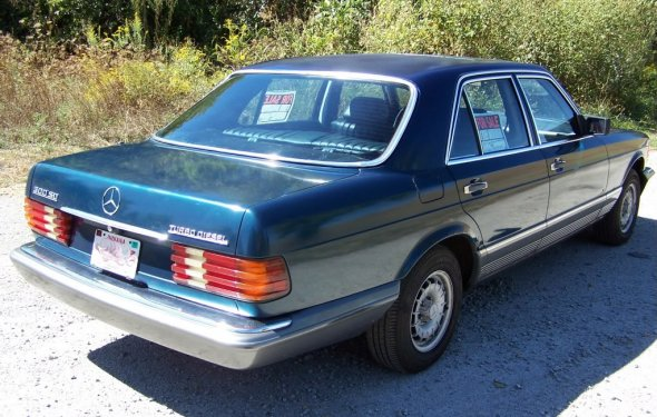 1982 Mercedes Benz 300sd W126 OM617 Turbo diesel Louisville, KY