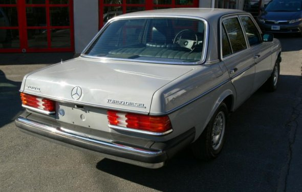 For Sale - 1983 Mercedes Benz 300D Turbo Diesel W123 Sedan Great