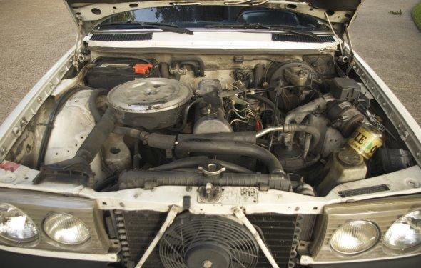 Mercedes 240D Engine   greychr   Flickr