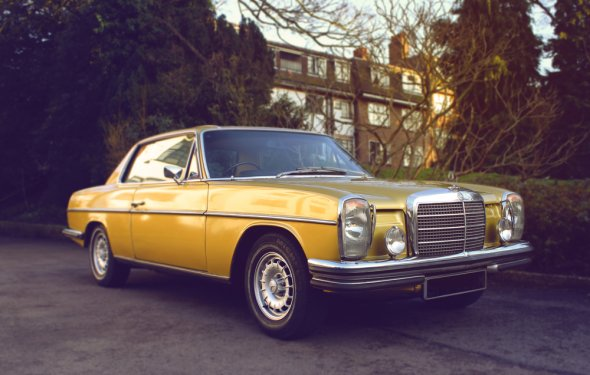 Mercedes 280CE - Luxury Classic Car Hire Rental - London — Love