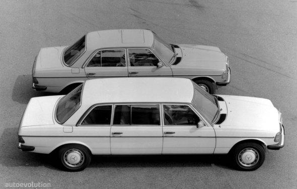 MERCEDES BENZ E-Klasse Lang (V123) specs - 1977, 1978, 1979, 1980