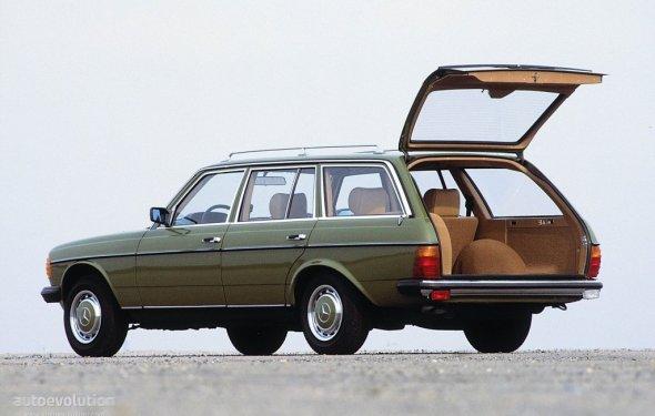 MERCEDES BENZ E-Klasse T-Modell (S123) specs - 1978, 1979, 1980