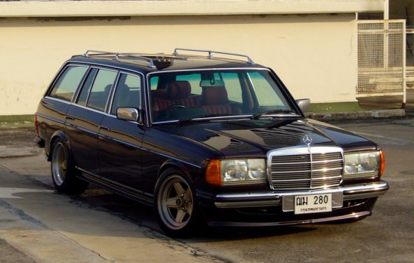 Mercedes Benz W123 Wagon. Beautiful | Lasteselbense | Pinterest