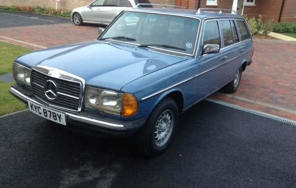 Mercedes Diesel Estate 300 TD with new engine and gearbox | in