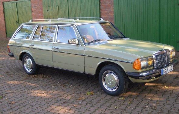 Mercedes W123 230 TE #63213