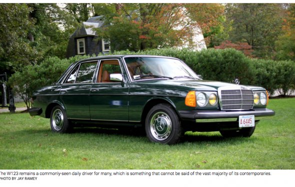 Mercedes W123 hits the big 4-0 | MBCA