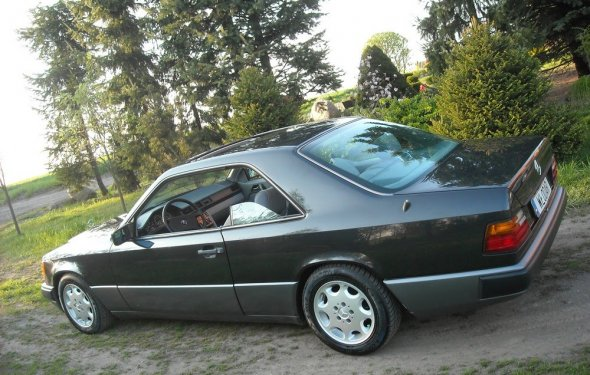 Mercedes W124 CE 230 CE 1988r. Classic - YouTube