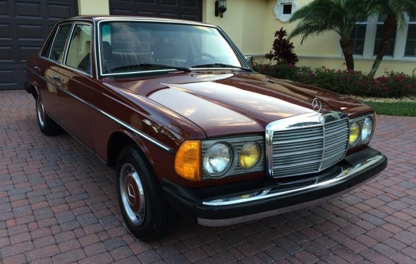 SOLD - 1981 Mercedes-Benz 240D Diesel Sedan for sale by Autohaus