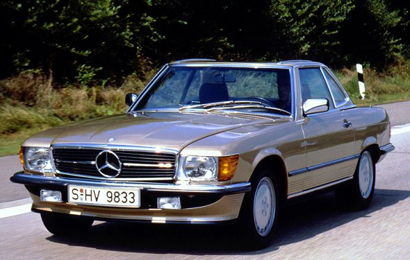 The classic 1972 – 1989 Mercedes SL spanned 18 model years without