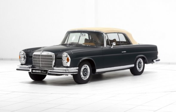Vintage Mercedes-Benz Units Restored By Brabus - BenzInsider.com