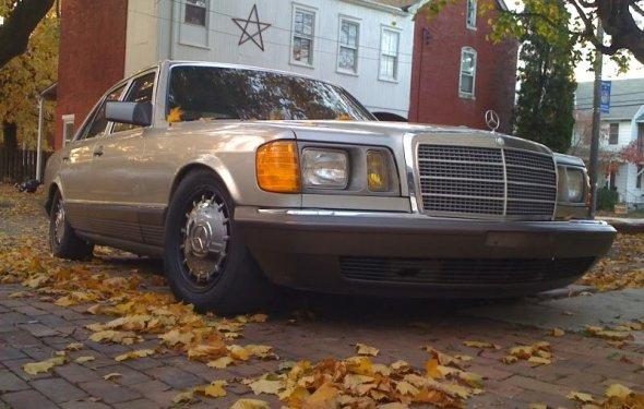 VWVortex.com - (PA) 1985 Mercedes 300sd Turbo Diesel, slammed!