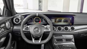 AMG E63 wagon interior